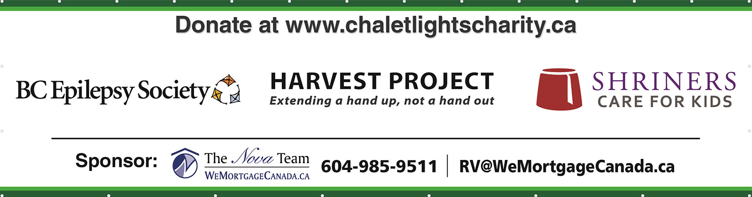 Chalet Lights Charities