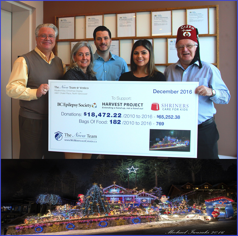 Chalet Lights Charity - North Vancouver
