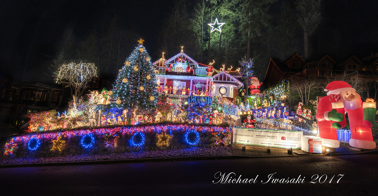 Christmas In Vancouver 2019 North Vancouver Christmas Lights | Christmas Charity
